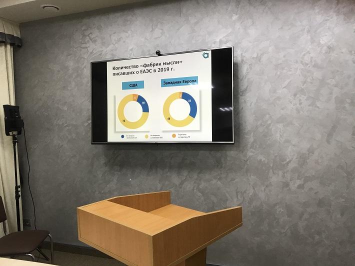 """В Фонде Горчакова состоялась онлайн-презентация аналитического доклада «ЕАЭС в публикациях ведущих западных """"фабрик мысли"""" в 2019 году»"""