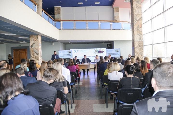 Перезентация в управлении молодежной политики Белгородской области